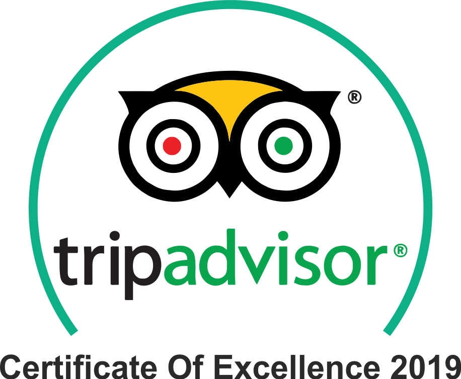 Trip Advisor Sailing Trips Certificate of Exellence 2020