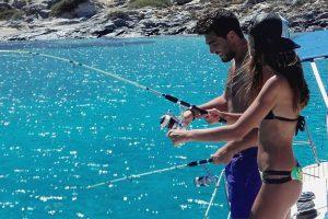 Sailing Trip Fishing at Dia