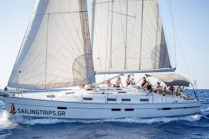 Daily sailing trips crete